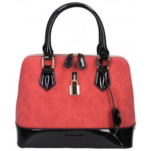 96ce22f286b4f6 Original David Jones Red ladies handbag purse